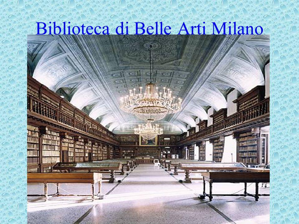 Biblioteca di Belle Arti Milano