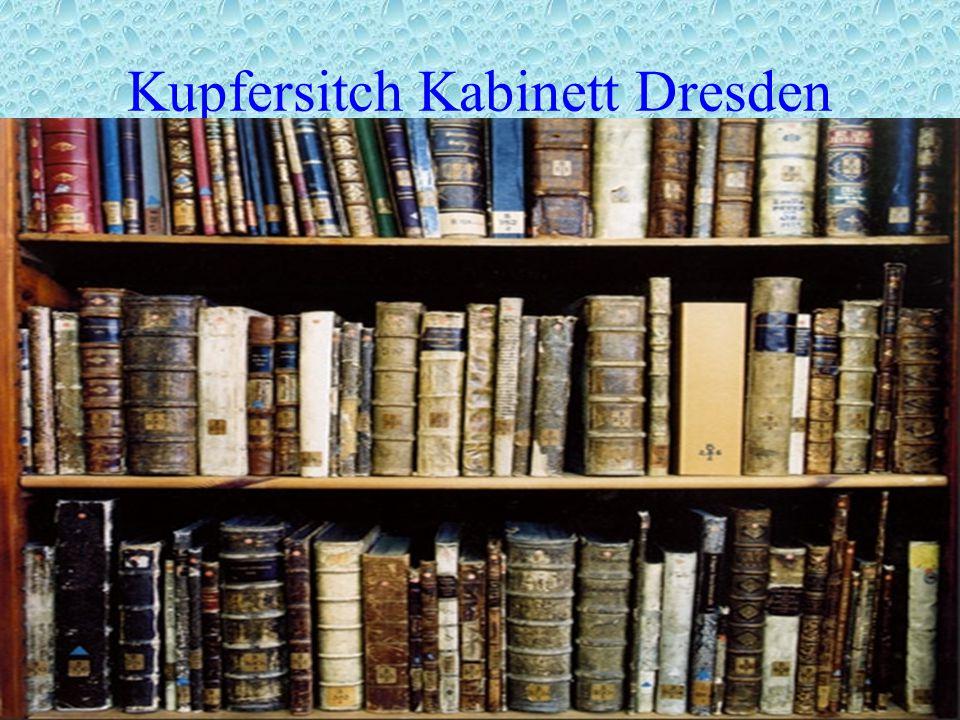 Kupfersitch Kabinett Dresden