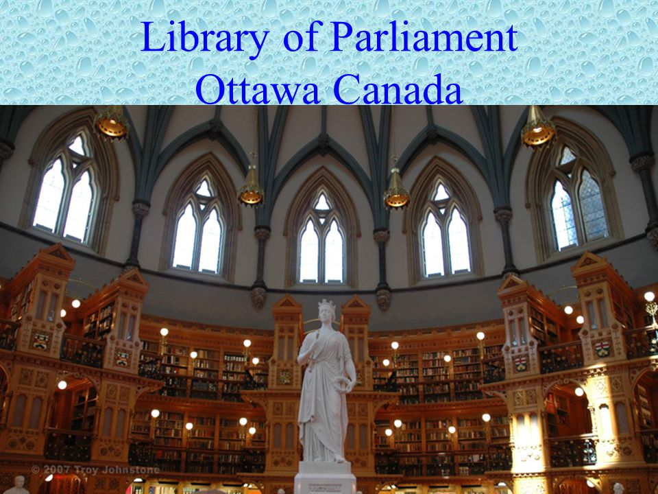Library of Parliament Ottawa Canada
