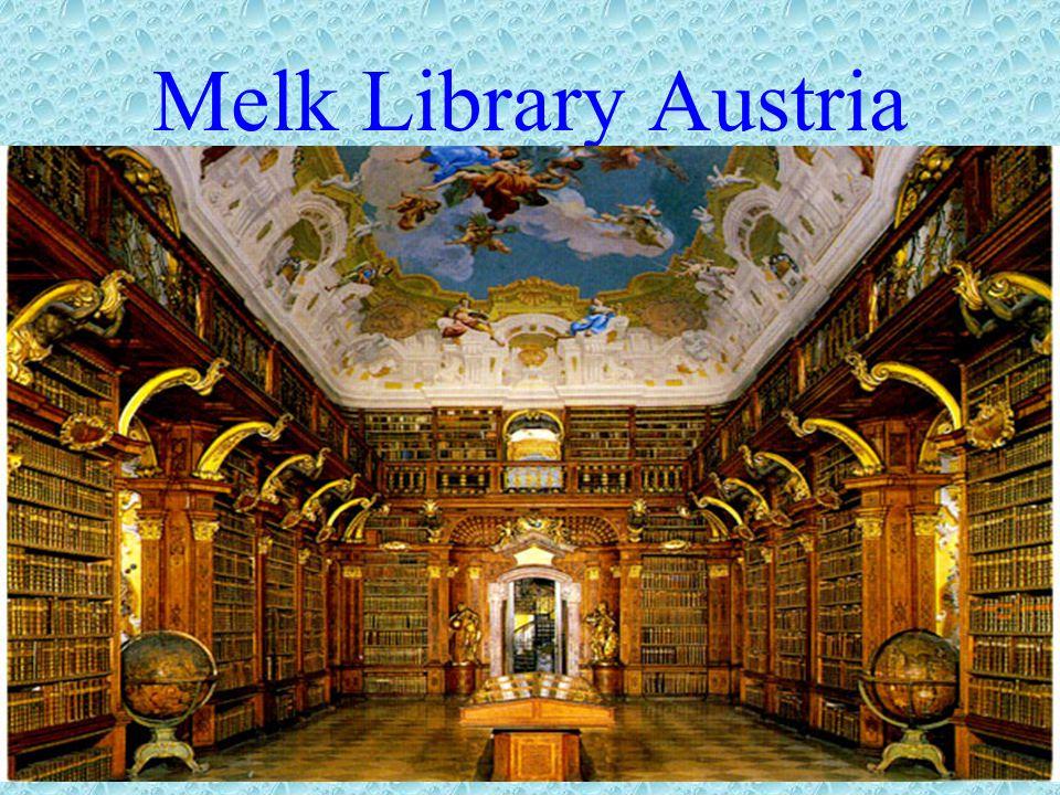Melk Library Austria