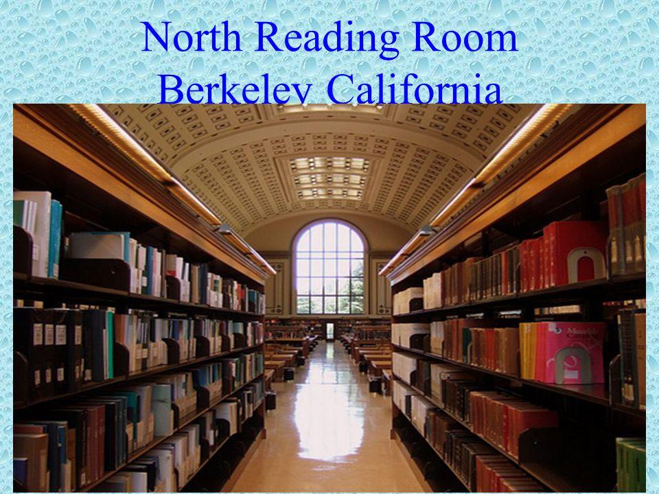 North Reading Room Berkeley California