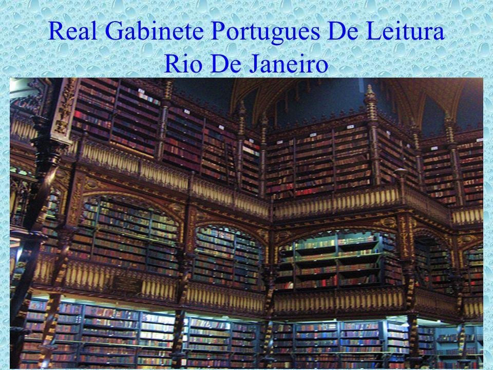 Real Gabinete Portugues De Leitura Rio De Janeiro