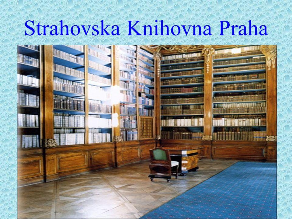Strahovska Knihovna Praha