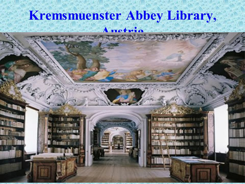 Kremsmuenster Abbey Library, Austria