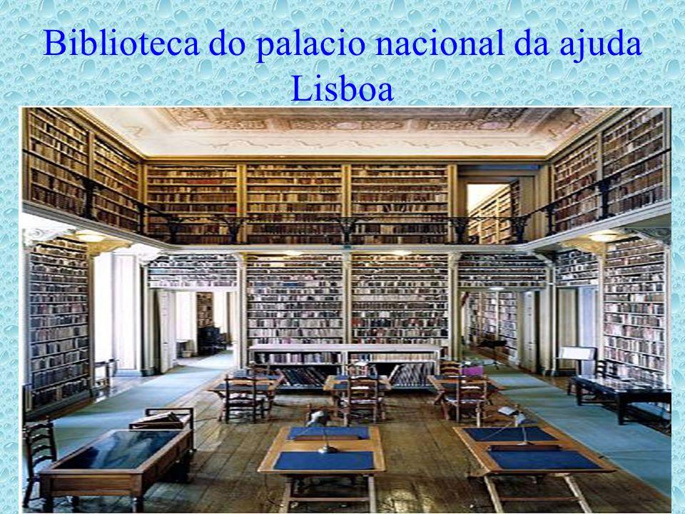 Biblioteca do palacio nacional da ajuda Lisboa
