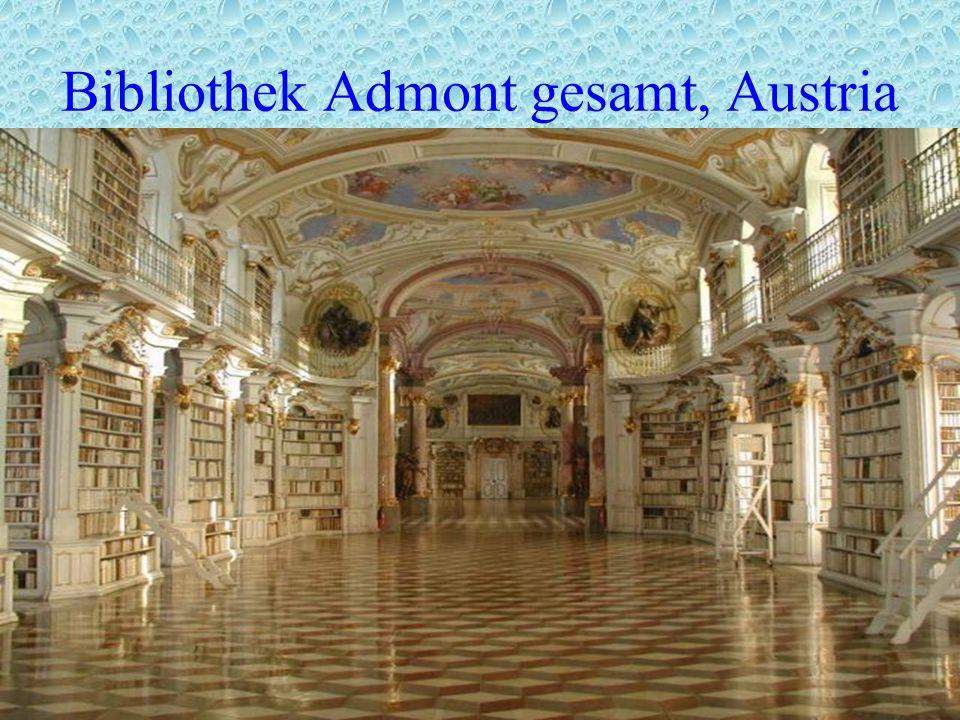 Bibliothek Admont gesamt, Austria