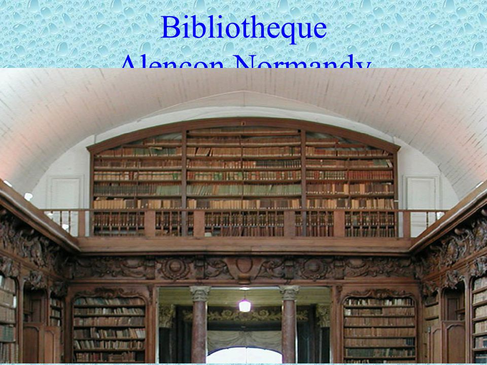 Bibliotheque Alencon,Normandy