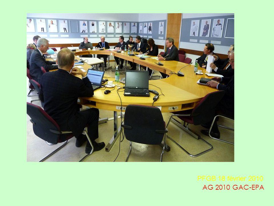 AG 2010 GAC-EPA PFGB 18 février 2010