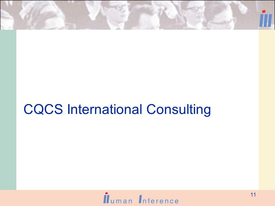 11 CQCS International Consulting