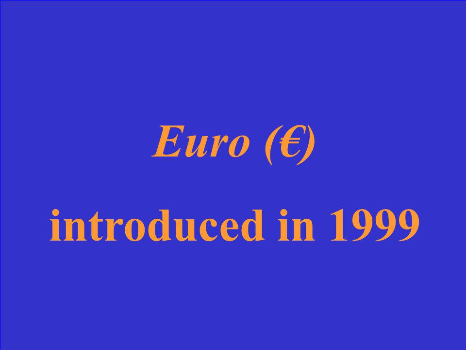 What is French currency and when was it introduced