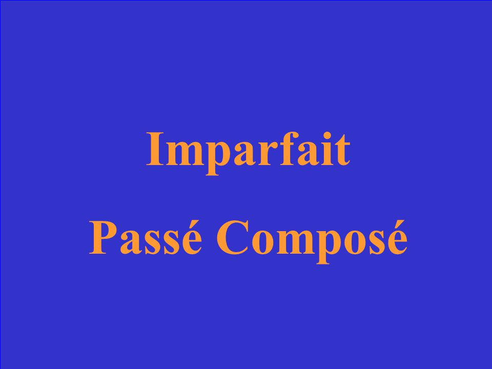 Interrupted corresponds to Interruptor corresponds to Give the tenses in the correct order.