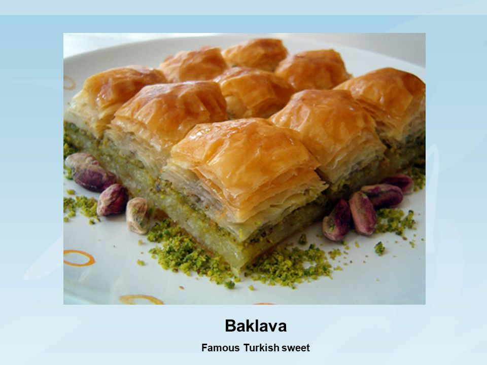 Baklava Famous Turkish sweet