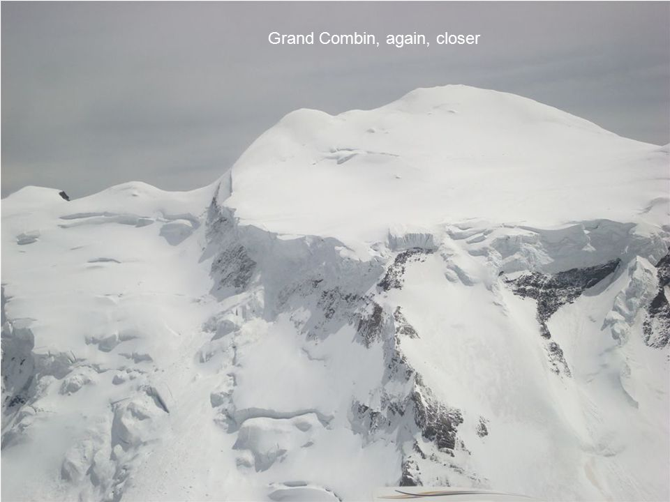 Grand Combin, again, closer