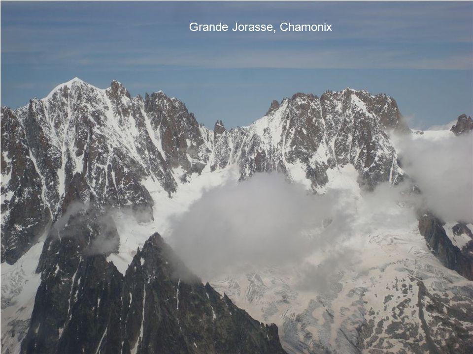 Grande Jorasse, Chamonix