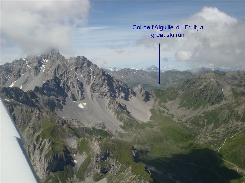 Col de l'Aiguille du Fruit, a great ski run