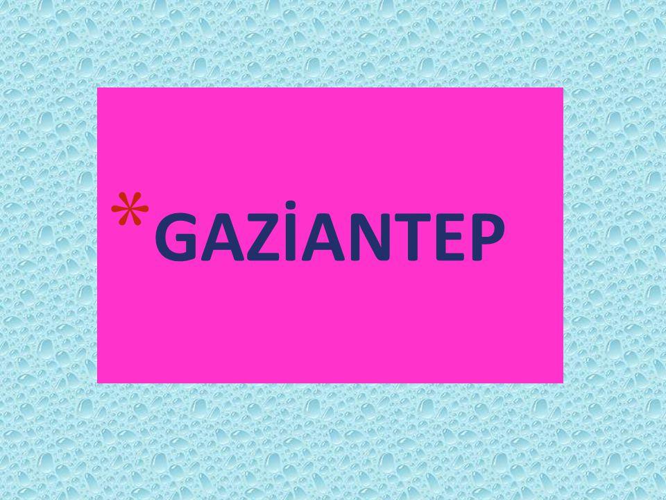 * GAZİANTEP
