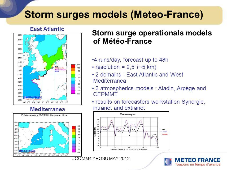 JCOMM4 YEOSU MAY 2012 26 february storm surge and tidal forecast for Xynthia storm