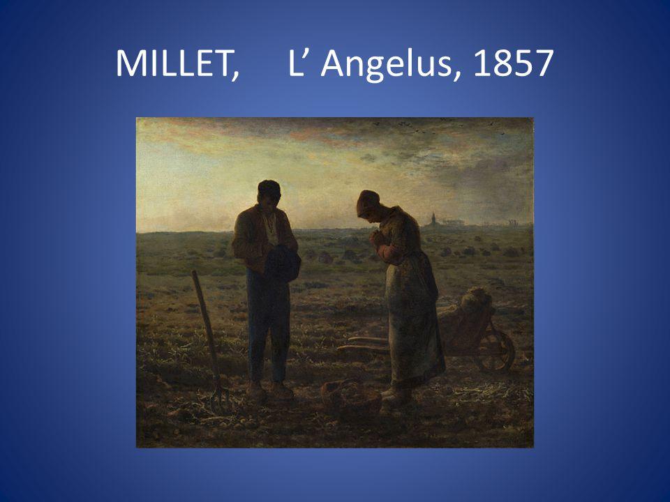MILLET, L' Angelus, 1857