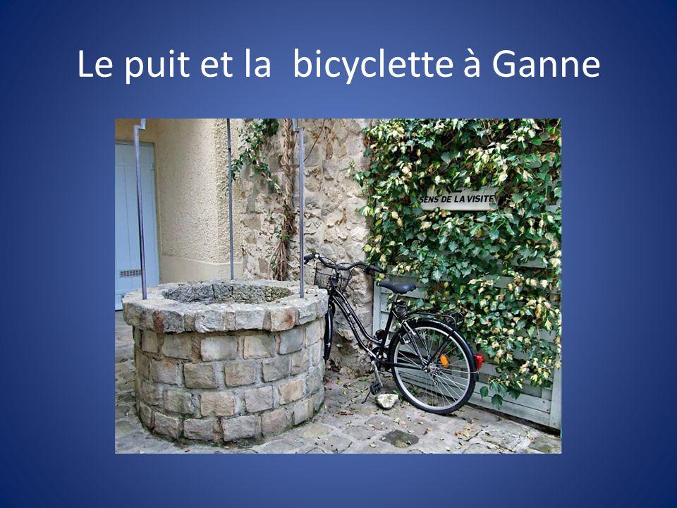 Le puit et la bicyclette à Ganne