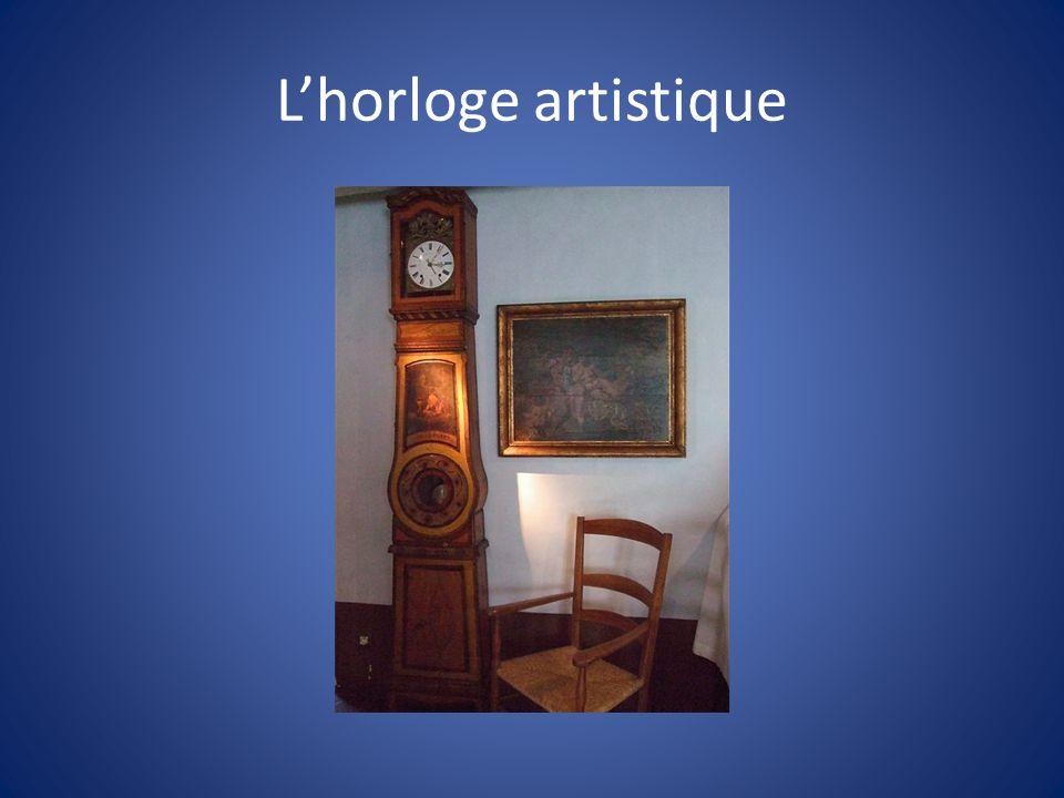 L'horloge artistique
