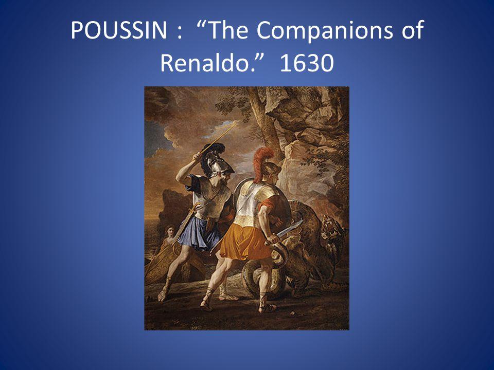 """POUSSIN : """"The Companions of Renaldo."""" 1630"""