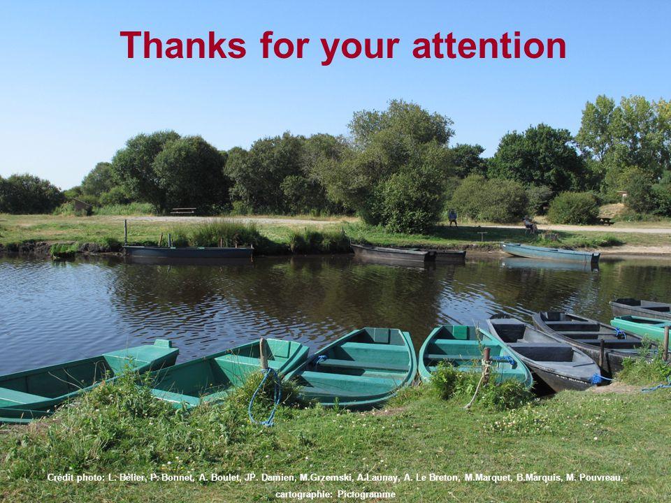 Thanks for your attention Crédit photo: L. Bélier, P.