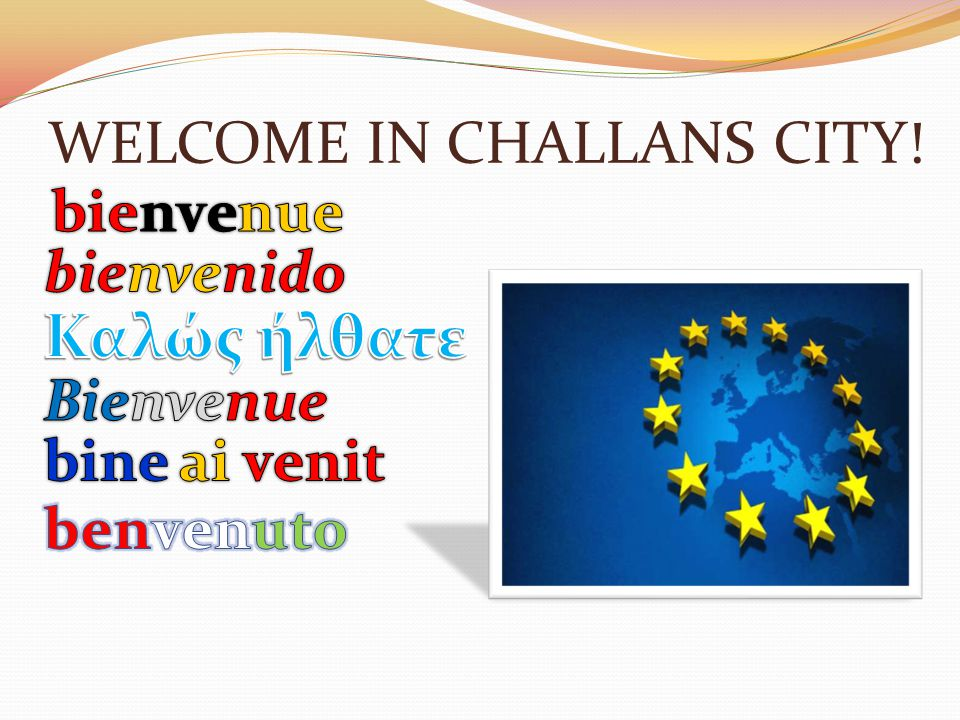 WELCOME IN CHALLANS CITY!