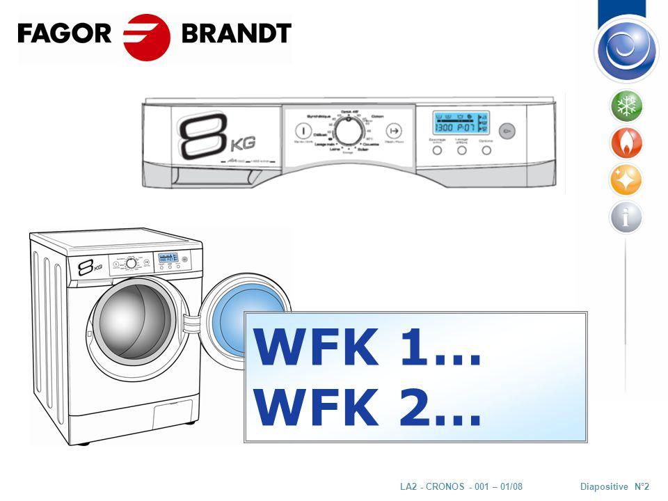 Diapositive N°23LA2 - CRONOS - 001 – 01/08 MAIN COMPONENTS Detergent box PowderLiquide