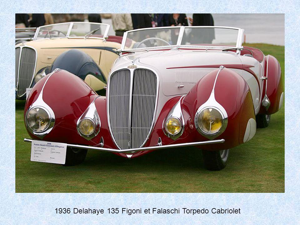 1936 Delahaye 135 Competition Court Figoni et Falaschi Coupe