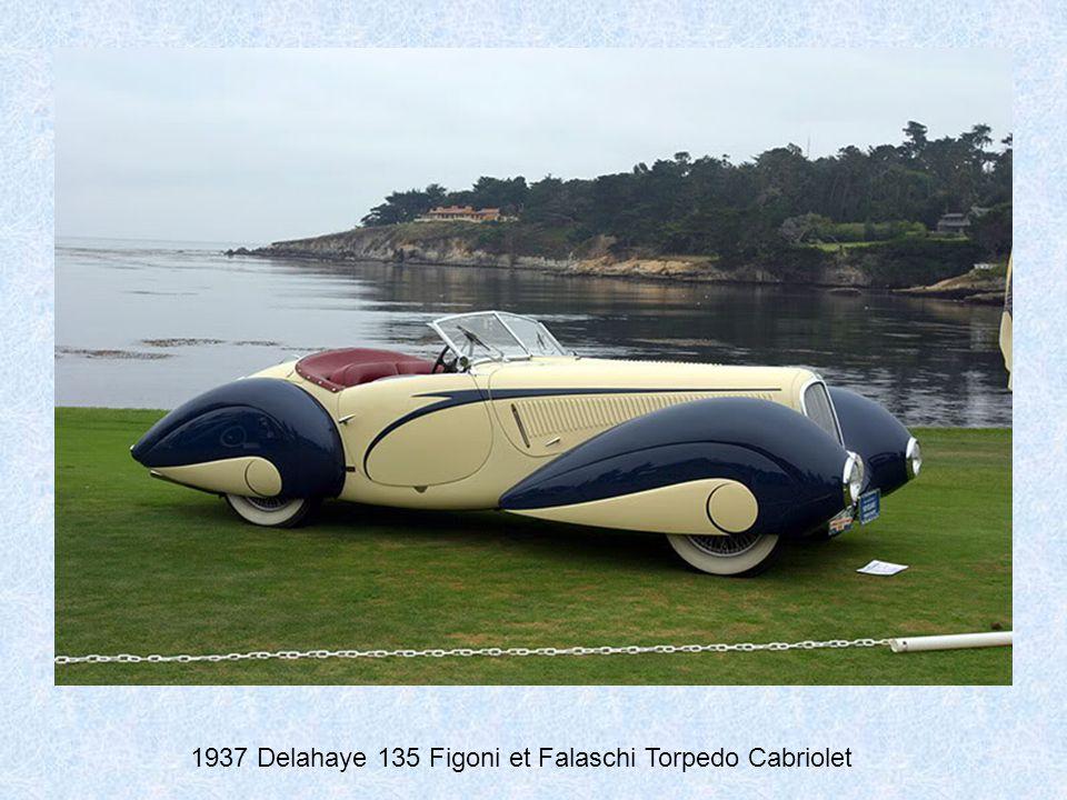 1936 Delahaye 135 Figoni et Falaschi Torpedo Cabriolet
