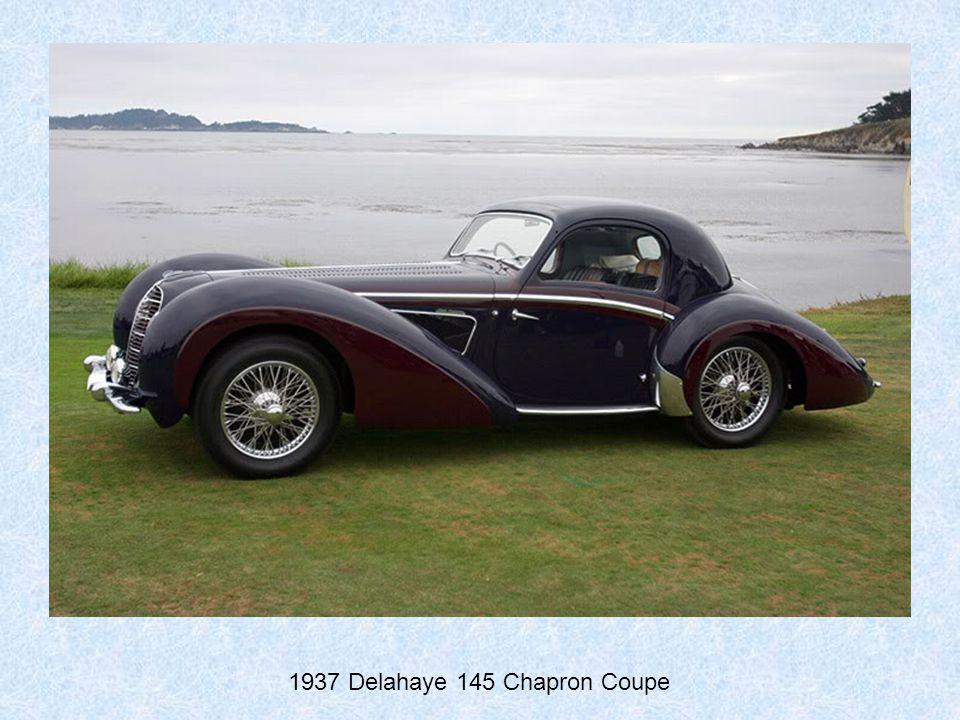 1937 Talbot Lago T150 SS Figoni Et Falaschi Coupe