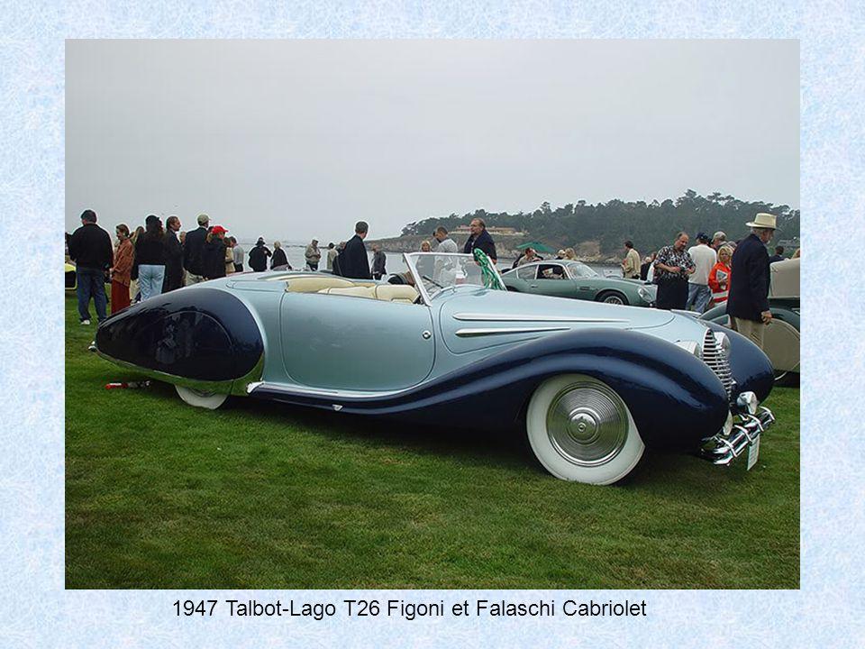 1947 Rolls-Royce Phantom III Labourdette Vutotal Cabriolet, rear