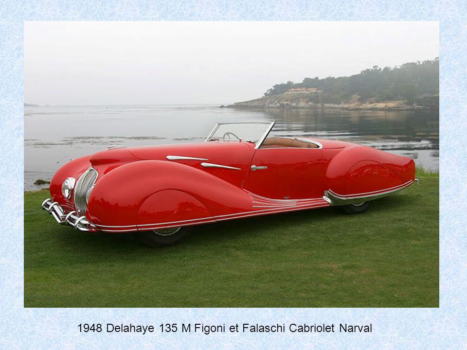1948 Delahaye 135 M Figoni et Falaschi Cabriolet