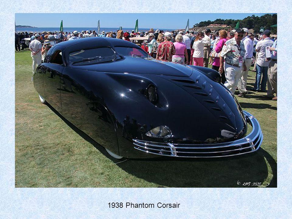 1925 Rolls Royce Phantom I Aerodynamic Coupe, rear