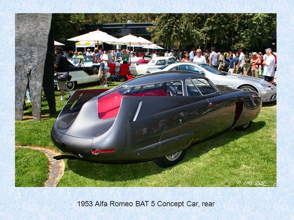 1953 Alfa Romeo BAT 5 Concept Car