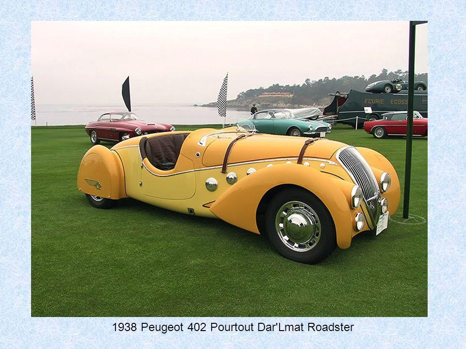 1937 Delahaye 135MS Figoni et Falashi Roadster
