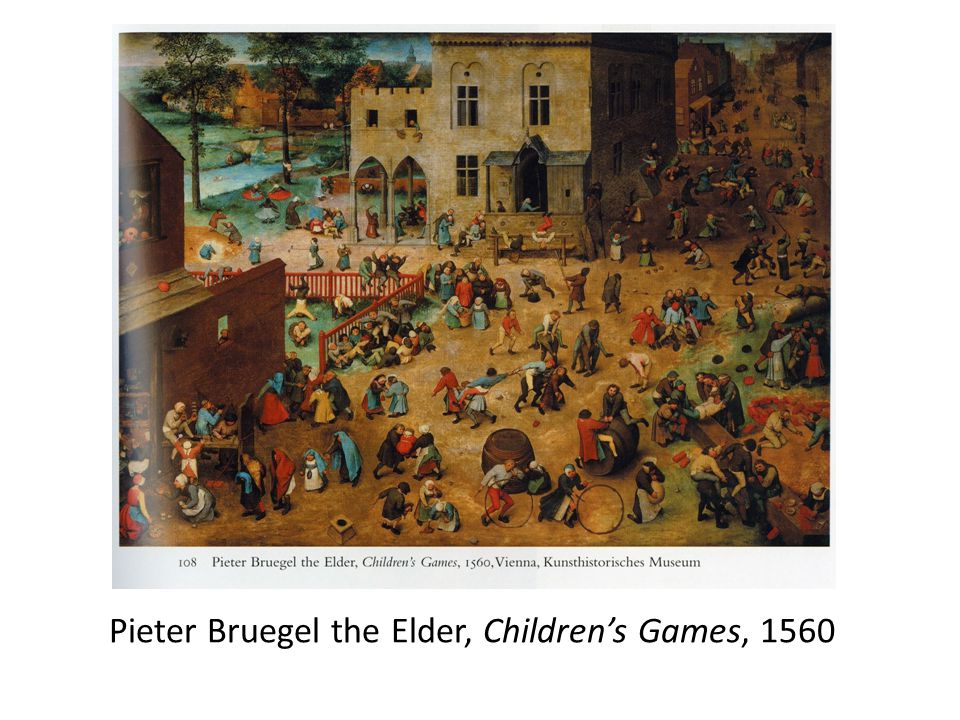 Pieter Bruegel the Elder, Children's Games, 1560