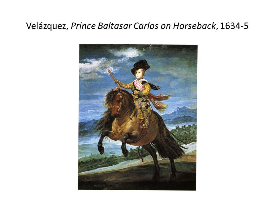 Velázquez, Prince Baltasar Carlos on Horseback, 1634-5