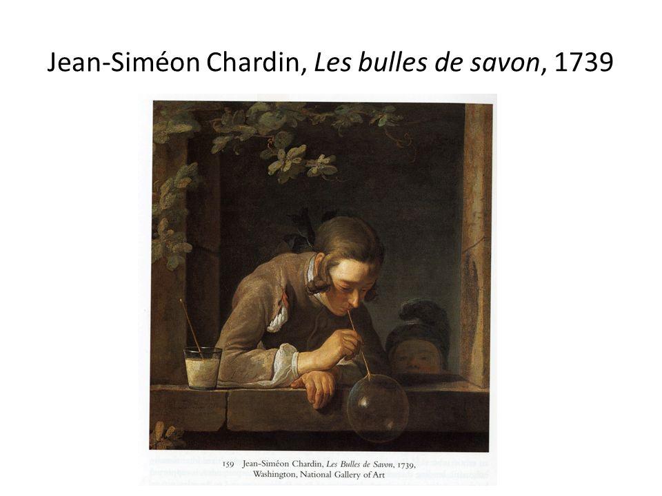 Jean-Siméon Chardin, Les bulles de savon, 1739