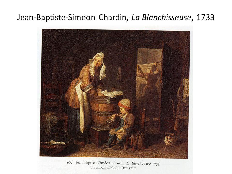 Jean-Baptiste-Siméon Chardin, La Blanchisseuse, 1733