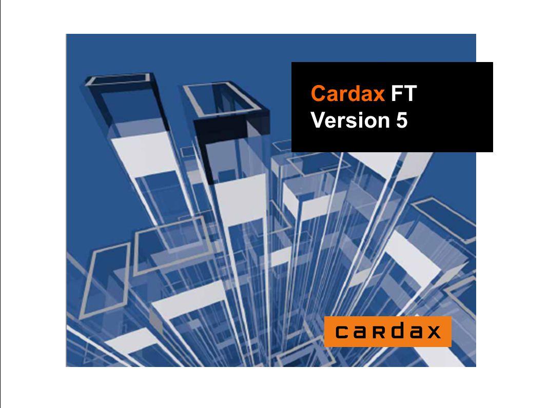 Cardax FT Version 5