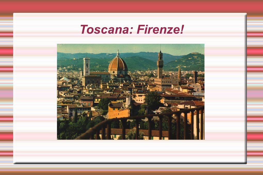 Toscana: Firenze!