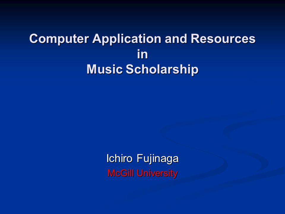 52 / 73 Summer 2004 Fujinaga Music databases (indices) CANTUS (U.