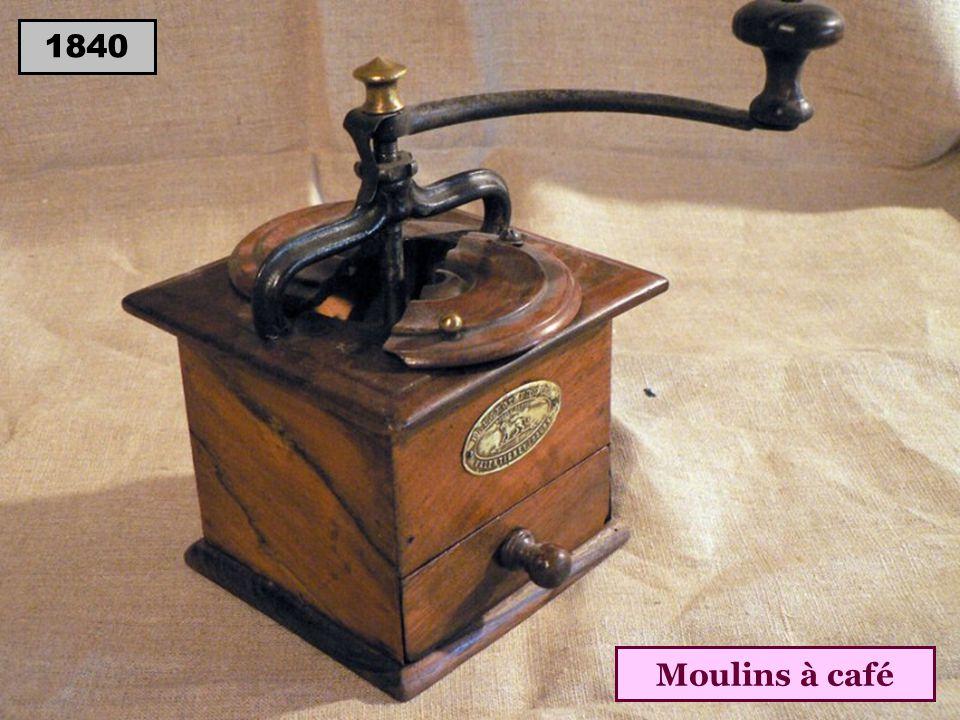 1840 Moulins à café