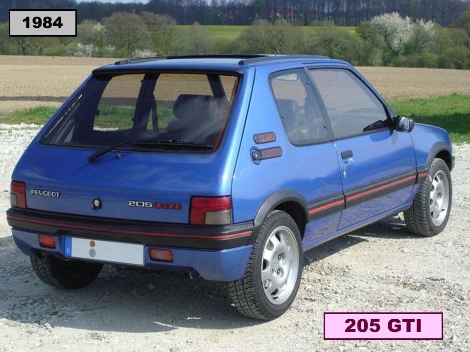 1984 205 GTI