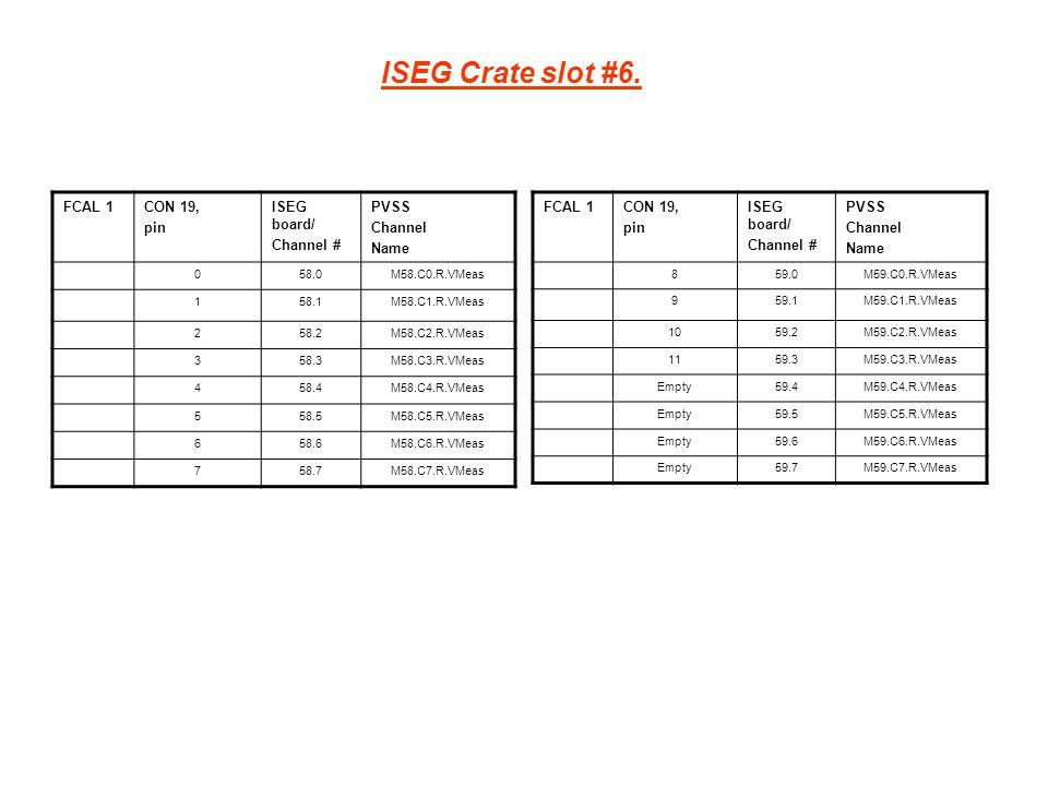 ISEG Crate slot #6.