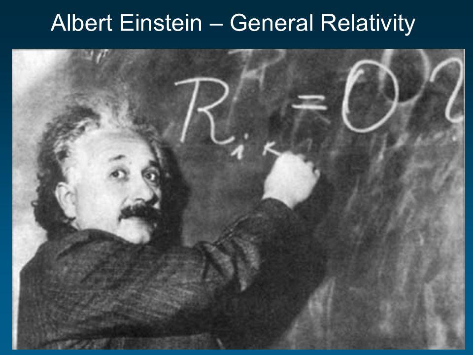 Albert Einstein – General Relativity