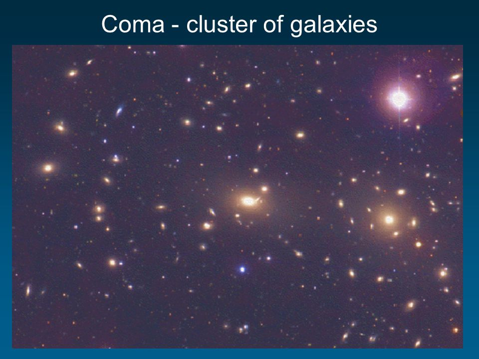Coma - cluster of galaxies
