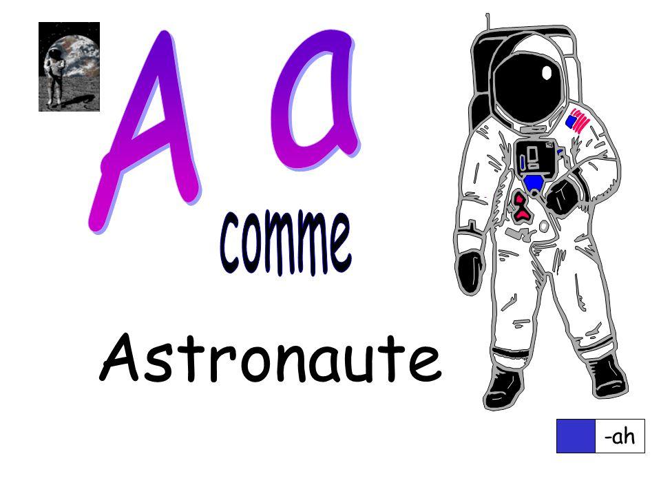 Astronaute -ah