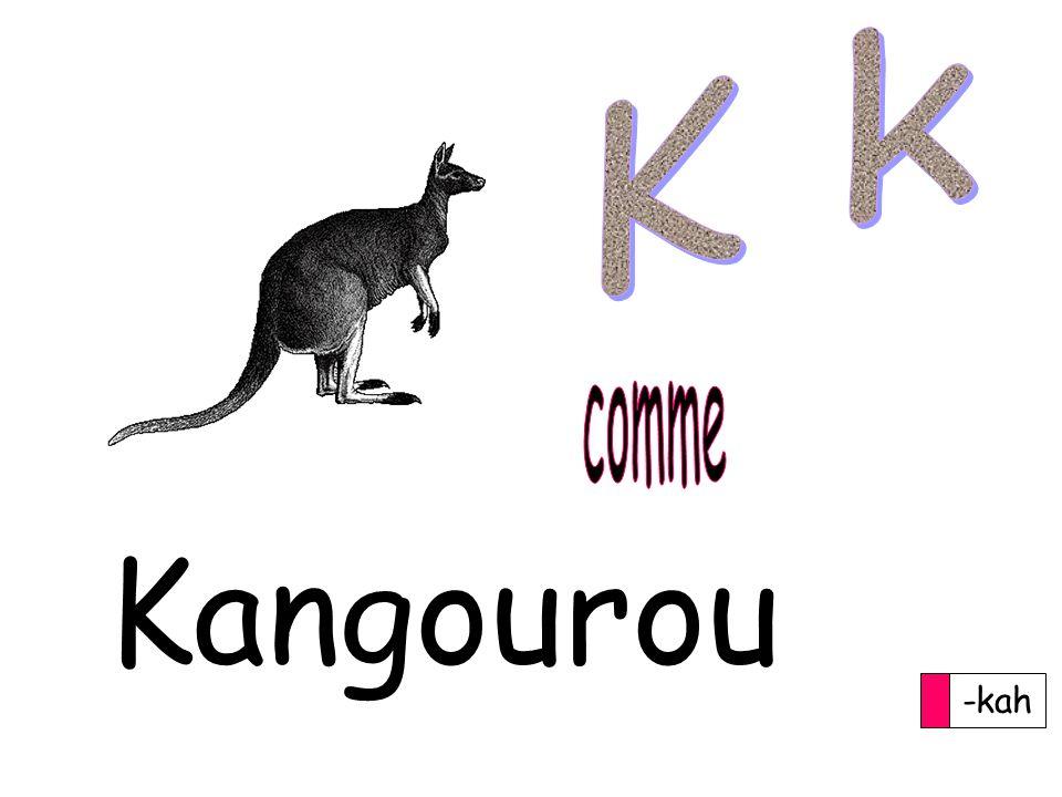 -kah Kangourou
